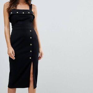 ASOS Button Detail Dress